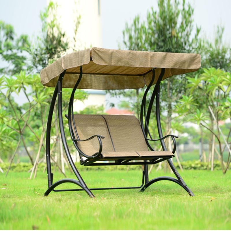 2 Person Patio Garden Swing Outdoor Hammock Hanging Chair Bench With Canopy Hanging Chair Outdoor Swing Chair Garden Patio Swing