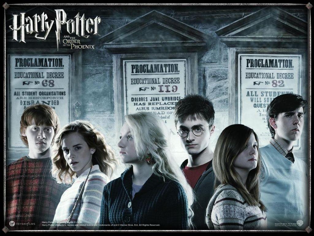 Harry Potter Und Der Orden Des Phonix Bild 26 Von 26 Harry Potter Bildschirmhintergrund Harry Potter Poster Orden Des Phoenix