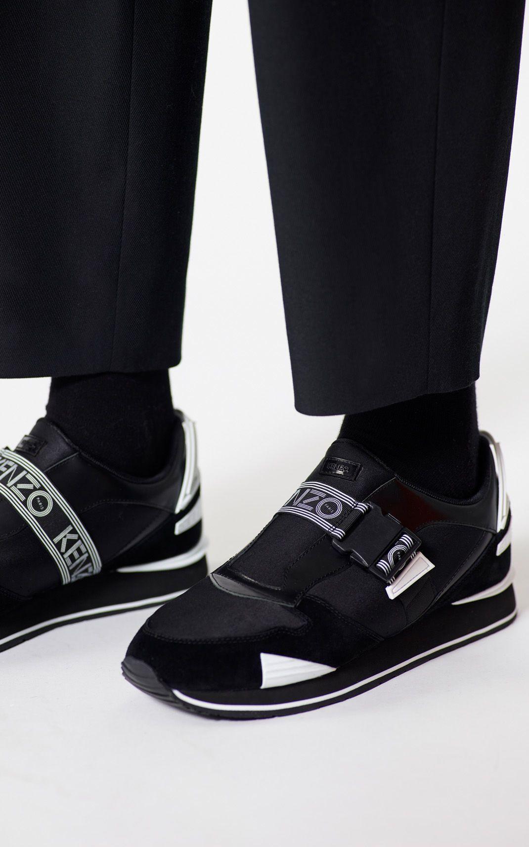 BLACK K-Run sneakers for men KENZO