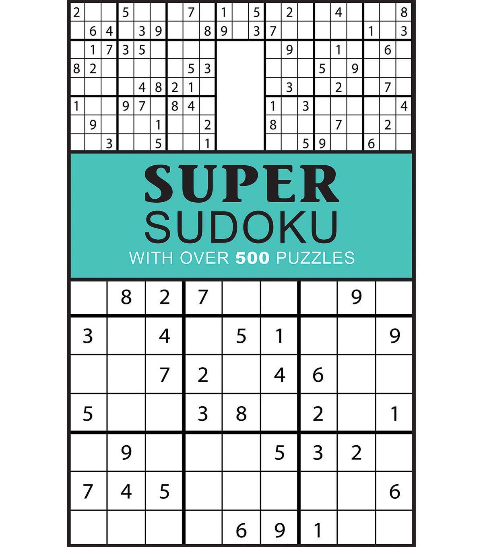 Parragon - Super Sudoku | Products | Pinterest | Online craft store ...