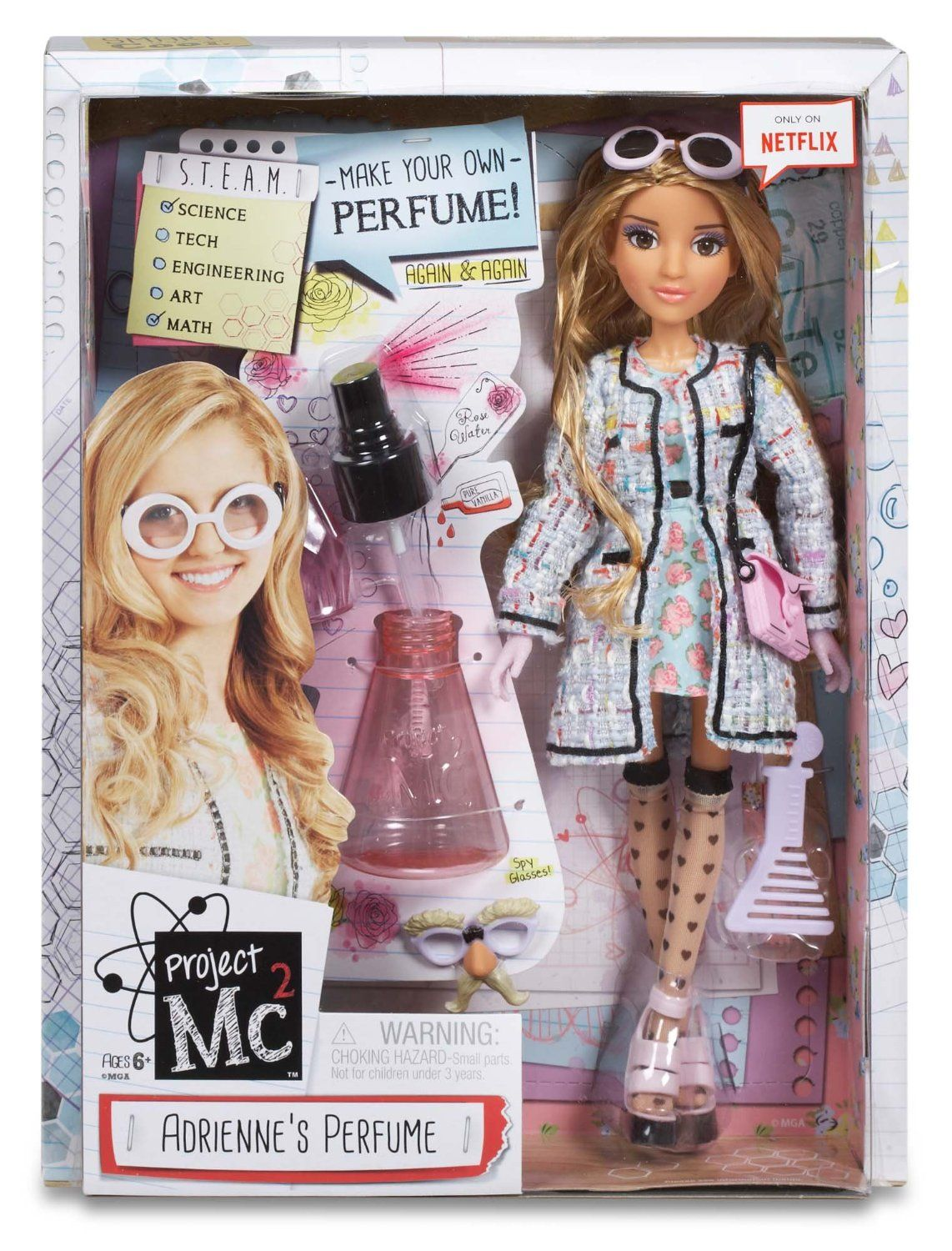 Amazon.com: Project Mc2 Experiment with Doll - Adrienne\'s Perfume ...