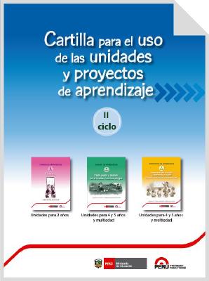 Teresa Clotilde Ojeda Sánchez: Cartilla de uso para las Unidades, sesiones y proy...