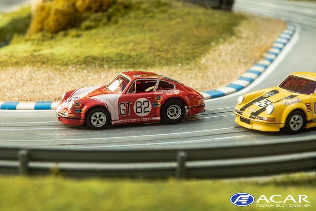 Kremer Racing Porsche 911S 1000km Nürburgring 1971