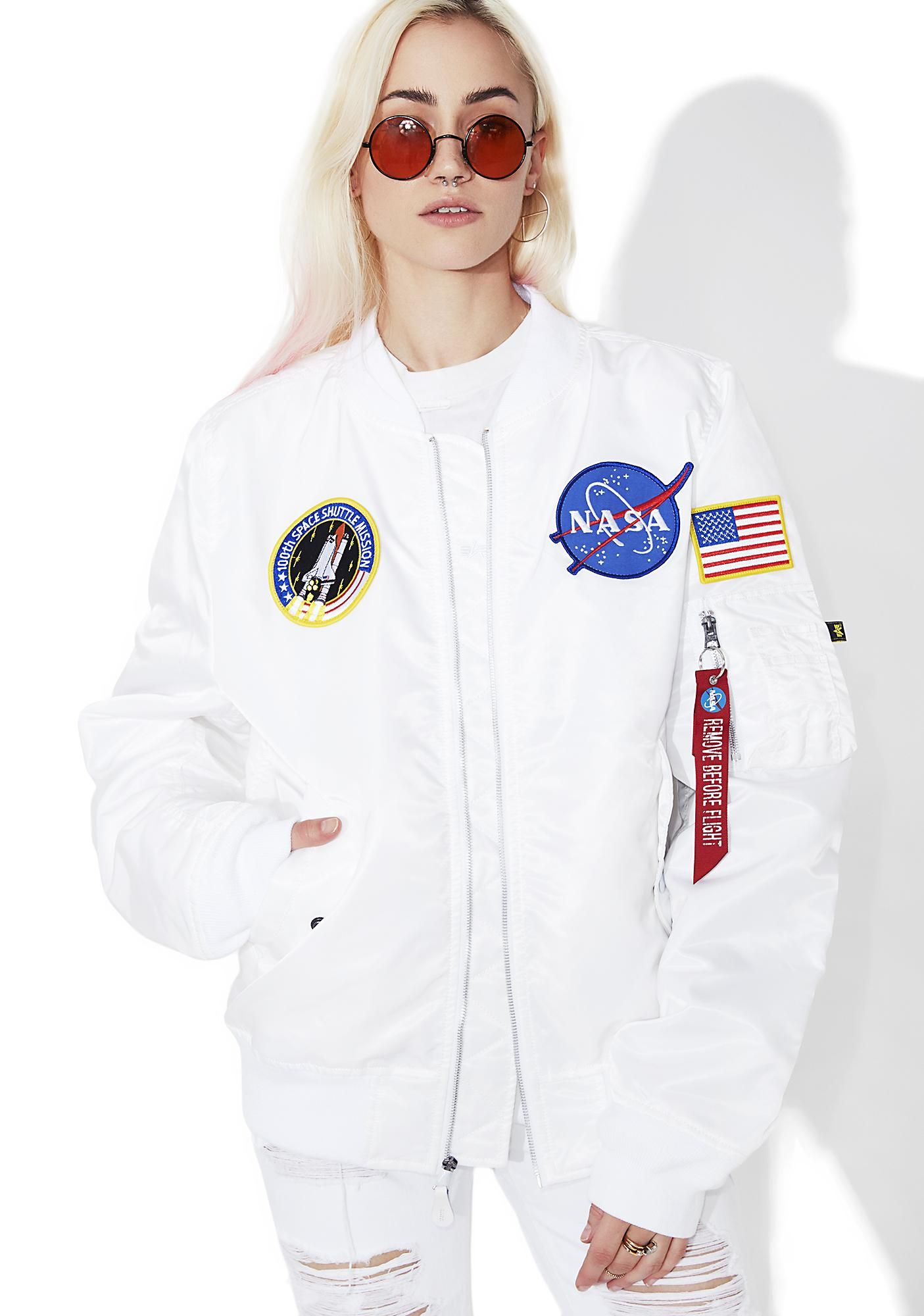 dc47edd17 Icy L-2B NASA Flight Jacket | U Totally Had This CD | Nasa jacket ...
