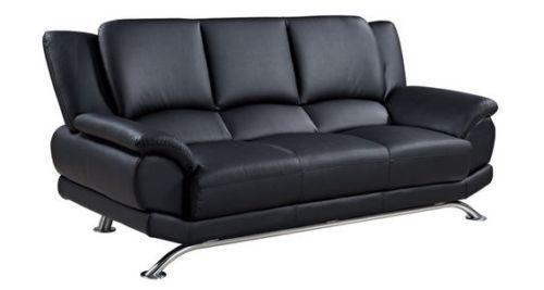 Sofa Leather Couch Loveseat Designer Seating Livingroom Furniture