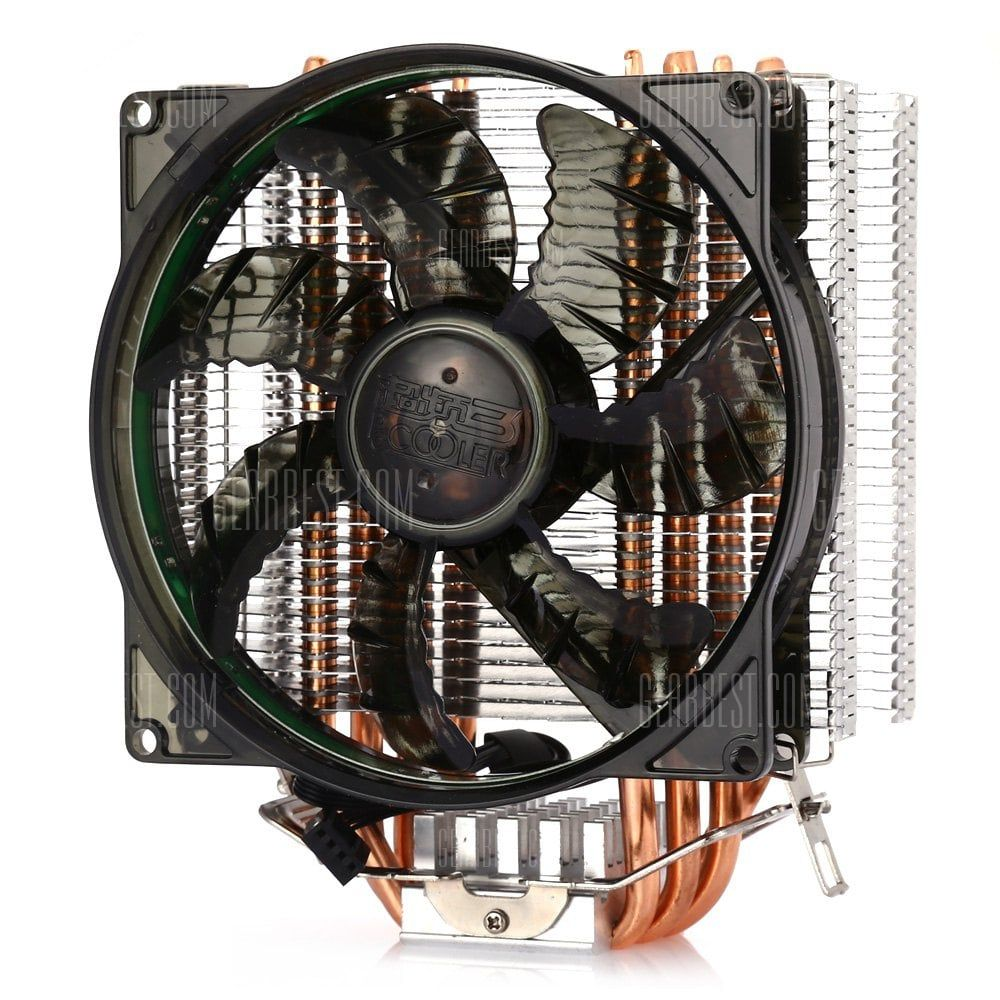 Pccooler Donghai X4 Ultra Silent Cpu Cooler Fan Shoproads