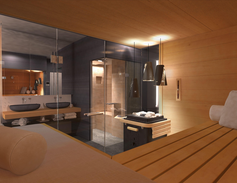 KLAFS Planungsideen: Sauna im Bad oder Wellnessbereich zuhause