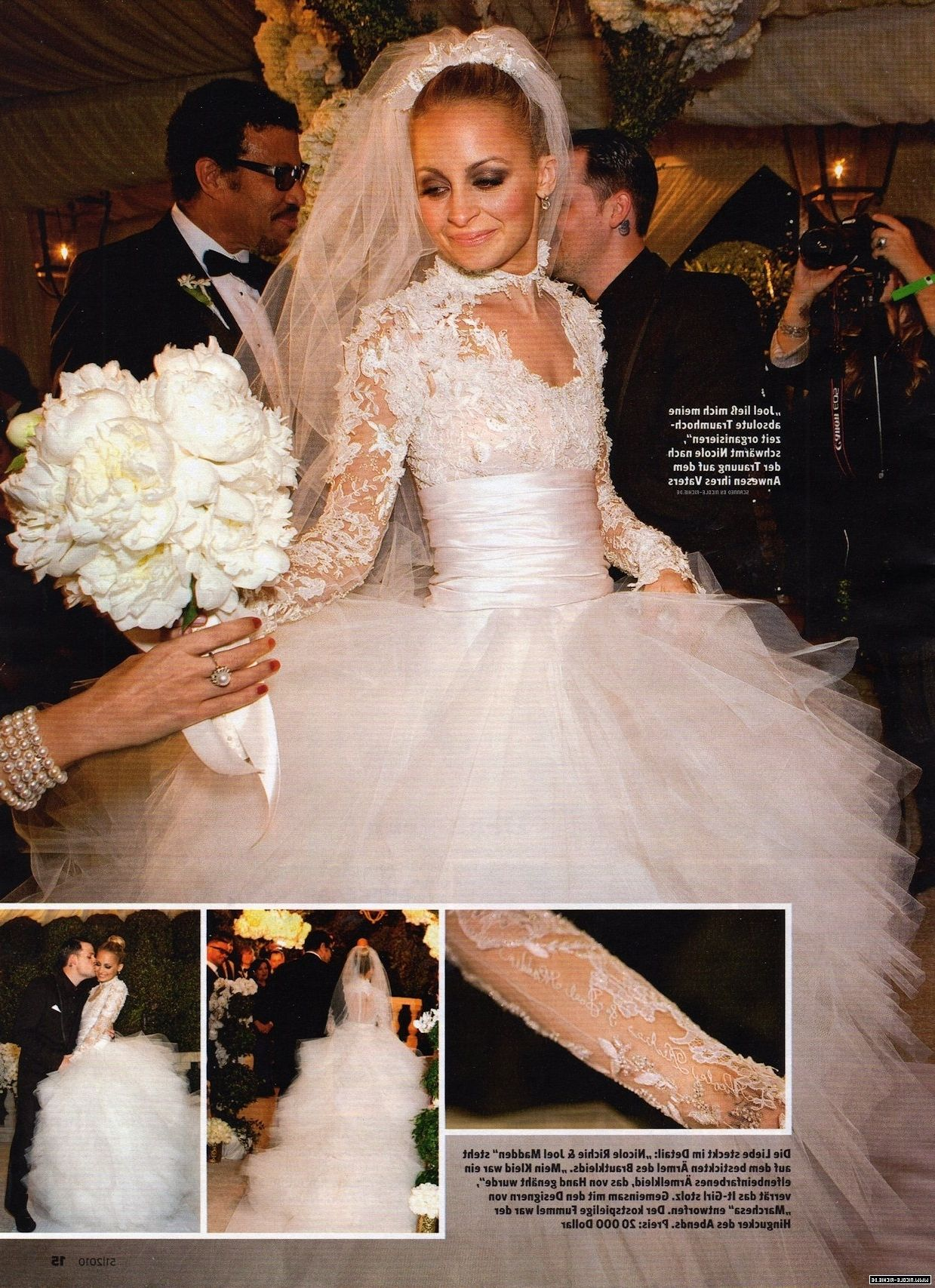 Nicole Richie Wedding Dress Knock Off: Nicole Richie Wedding Dresses At Reisefeber.org