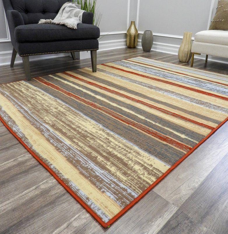 Nolasco Striped Blue Gray Area Rug Blue Gray Area Rug Rugs For Less Beige Area Rugs