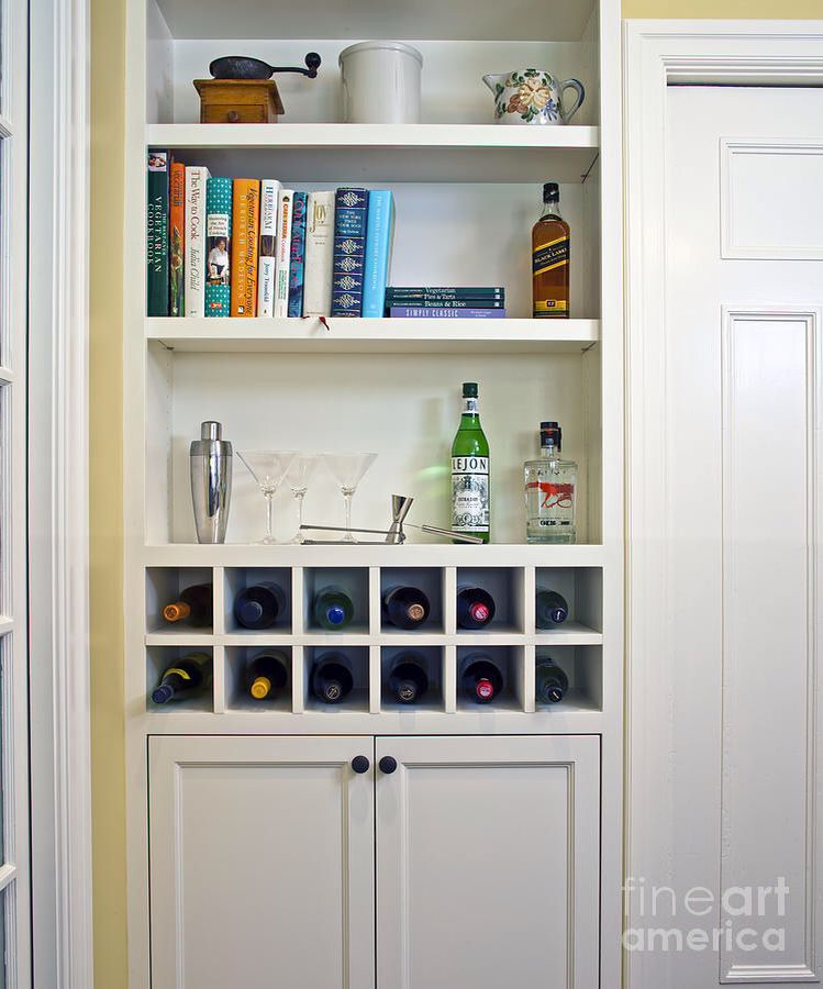 ask reveal and rack black kitchen makeover wine pin cupboard anna with custom above white fridge