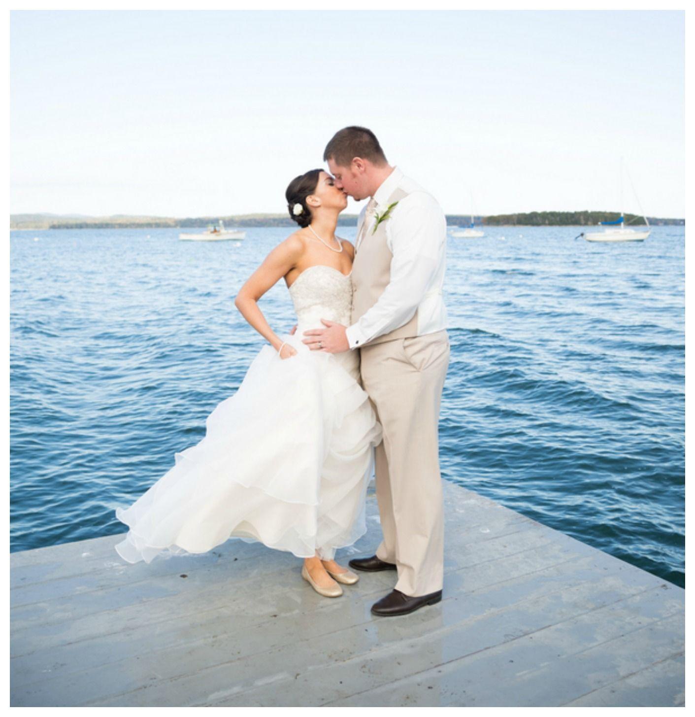 Rustic Maine Coastline Wedding