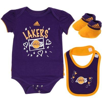 Nba Los Angeles Lakers Kids Newborn Infant Baby Clothes Nba Baby Baby Boy Outfits