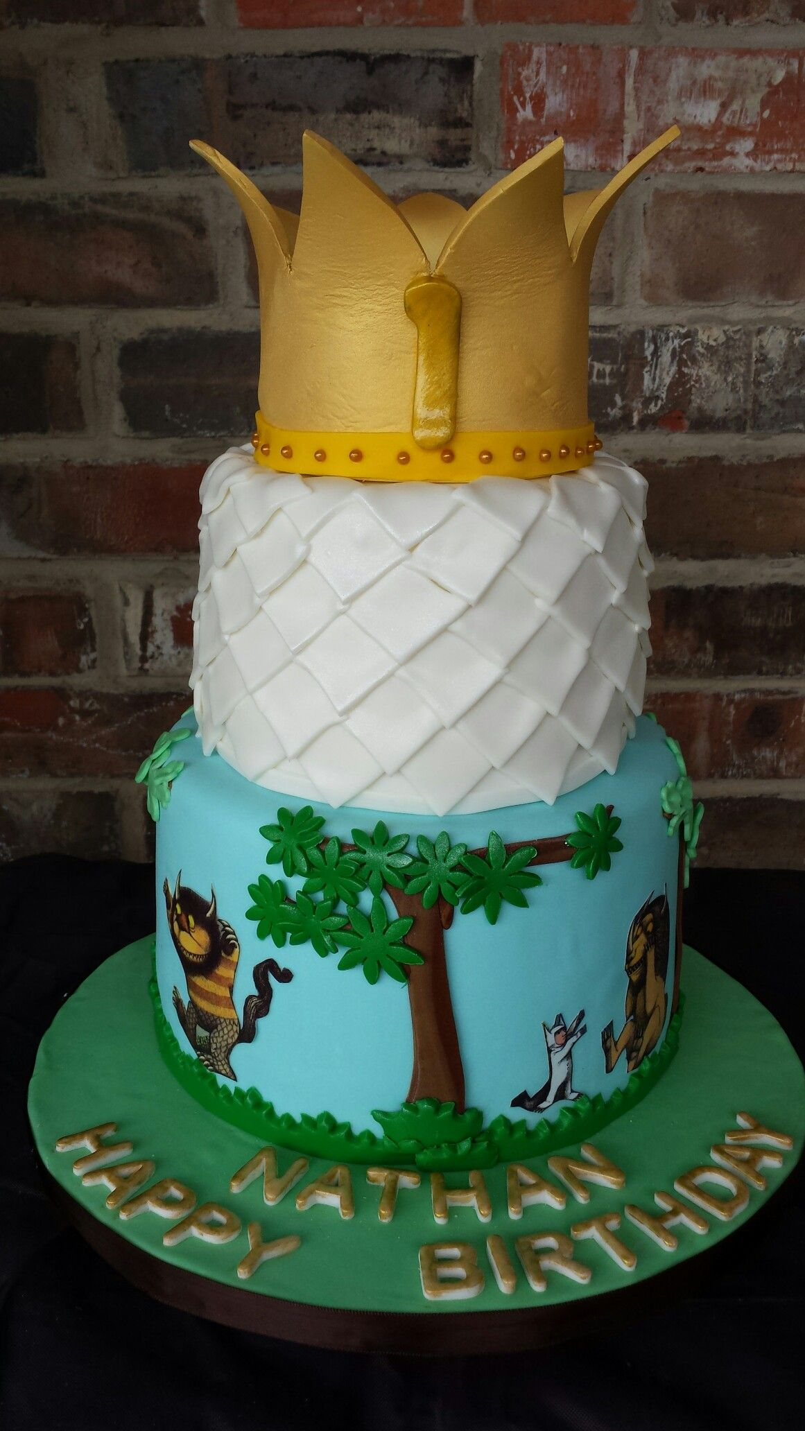 Where The Wild Things Are 1st Birthday Cake By Max Amor
