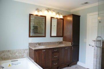 Bathroom Vanities With Linen Towers On End Vanity And