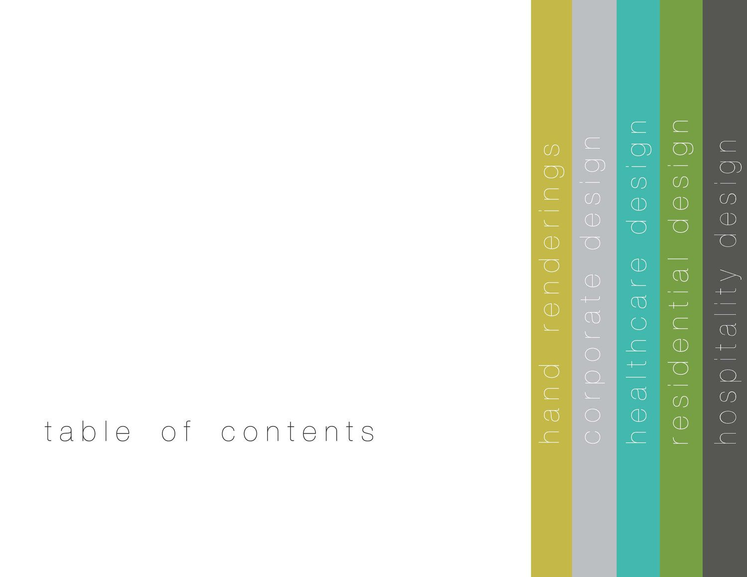 Table of Contents :: Fancy! This would be great when I have more ...