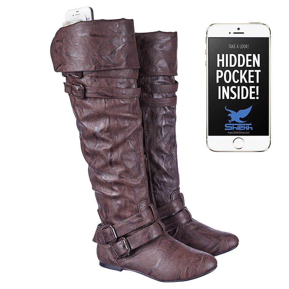 ceb9edb1ac73b2 Hidden pocket boots!