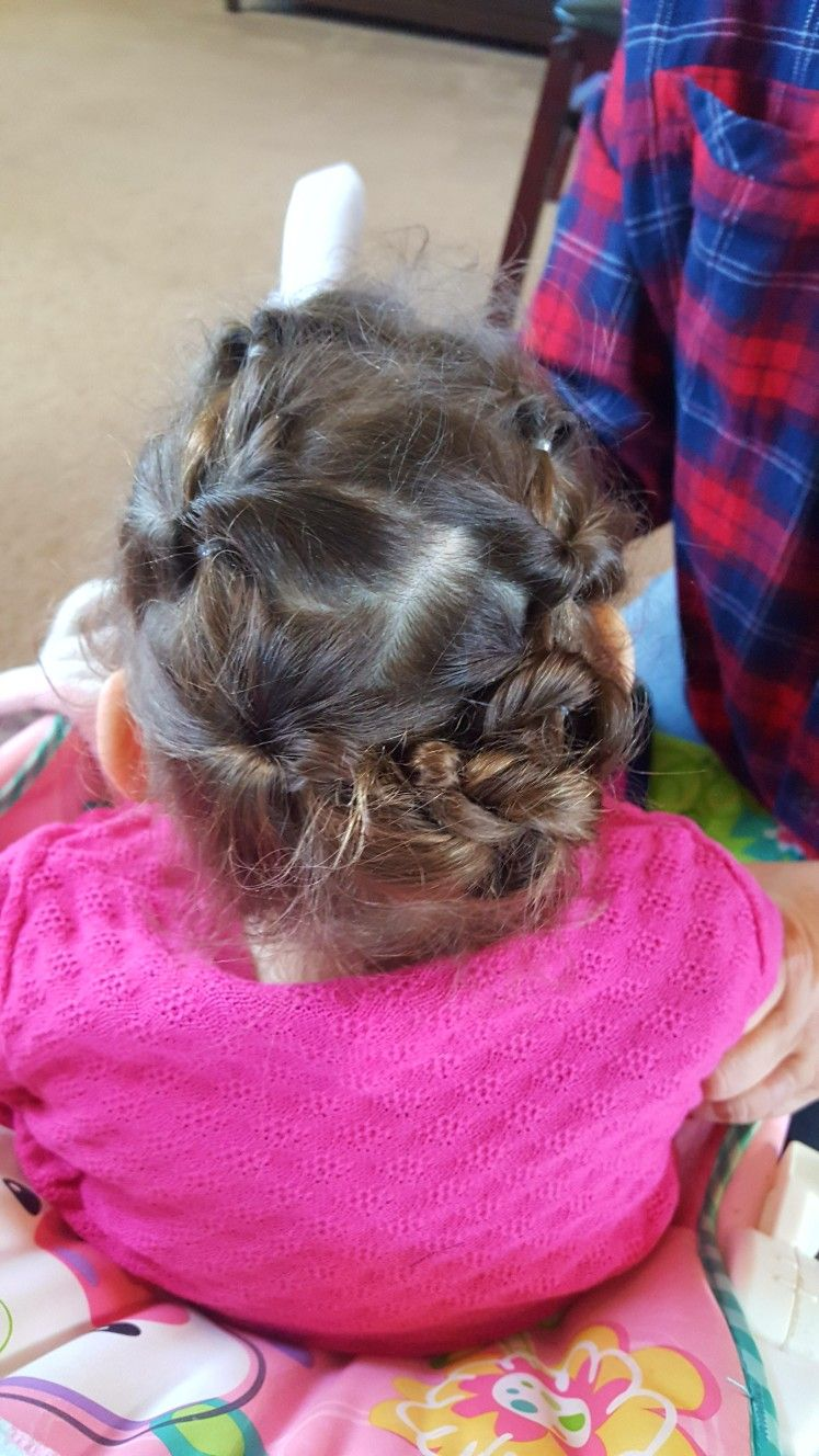 Super cute and easy toddler hair little girl hairstyles toddler