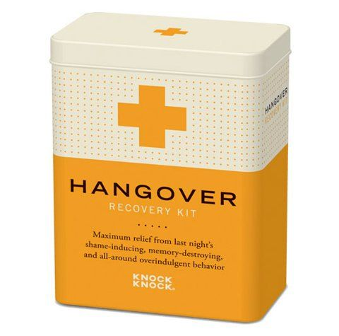 recovery kits for hangover - to include: Tylenol, Pepto