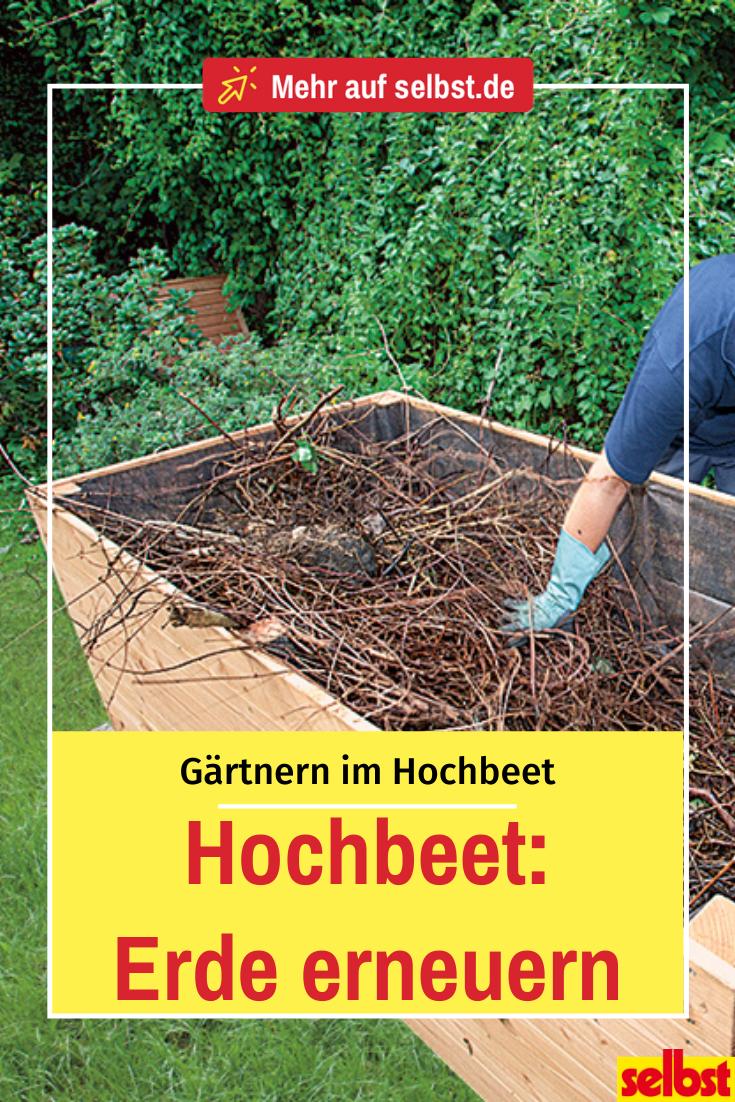Hochbeet Erde Erneuern In 2020 Garten Hochbeet Garten Landschaftsbau