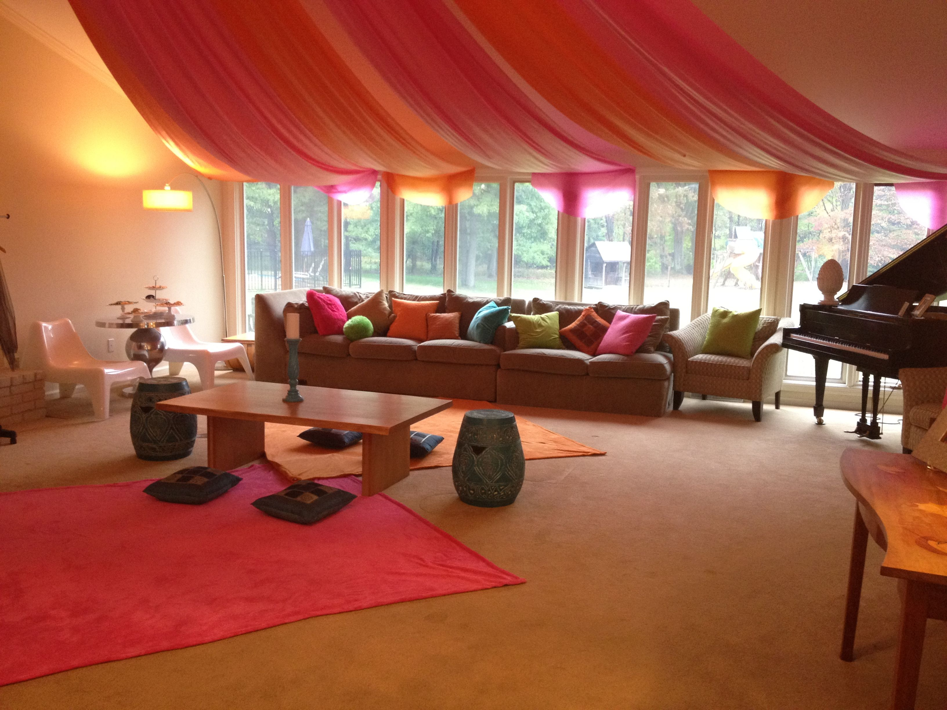 Slumber Party Super Sophisticated Moroccan Tent - Hippy Den Ideas