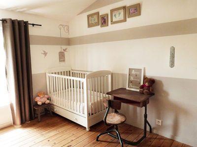 Chambre de bébé : jolies photos pour s\'inspirer | Pinterest | Jolie ...