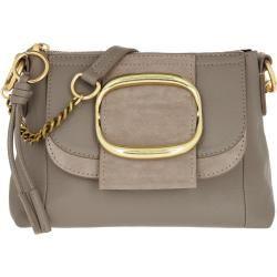 See By Chloé Hopper Hobo Bag Motty Grey in grau Umhängetasche für Damen Chloé
