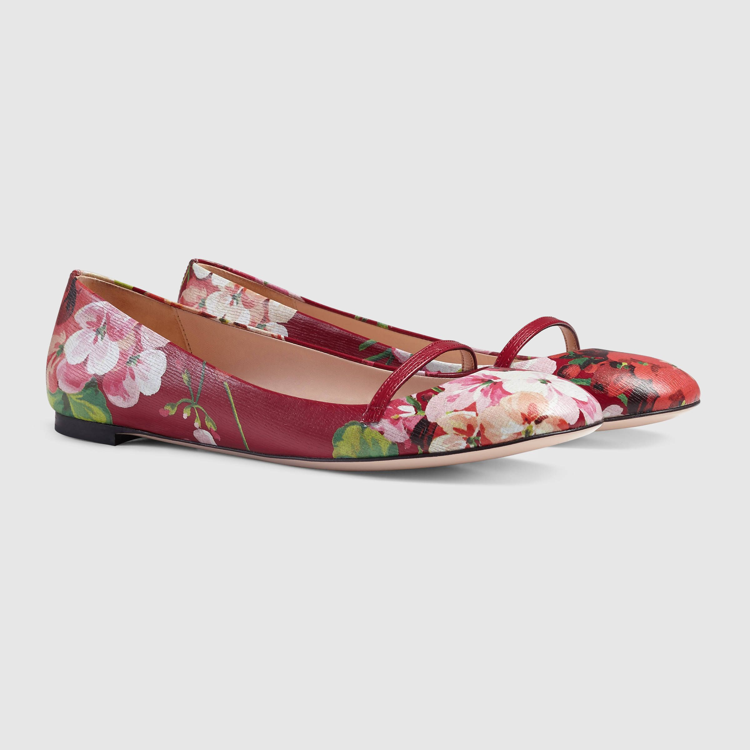 e1352cf597dede gucci women blooms leather flat 411038djh606498 shoes pinterest gucci sale