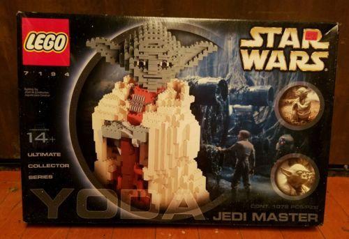 LEGO Star Wars Yoda (7194) NIB Sealed Unopened UCS https://t.co/HmIodPtFIA https://t.co/f0PkkrUrkE