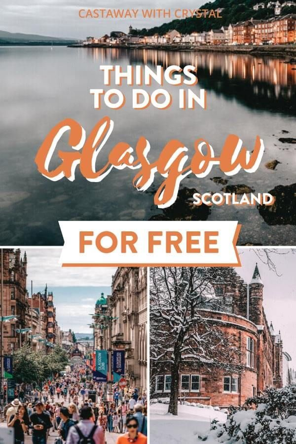 Check out these bonnie free things to do in Glasgow, Scotland! Be blown away by gorgeous buildings like the Glasgow Cathedral and Necropolis, or the University of Glasgow (and get your Harry Potter on too!). Spend one day outside the city centre in the Trossachs National Park or explore graffiti on a self-guided tour. Head to the Lighthouse for city skyline photography and be sure to stop in at an Art Museum. All this and more! #Glasgow #UK #CwC #Scotland #travel