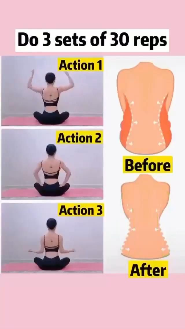 Simple Exercise to get Breast Shape