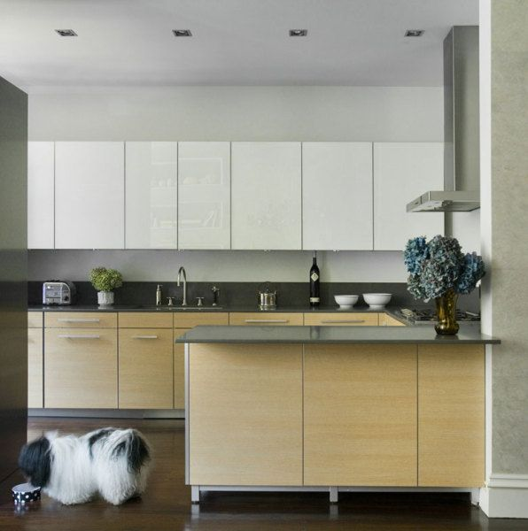 Modern Kitchen Flat Panel Cabinet Doors | For the Home ...