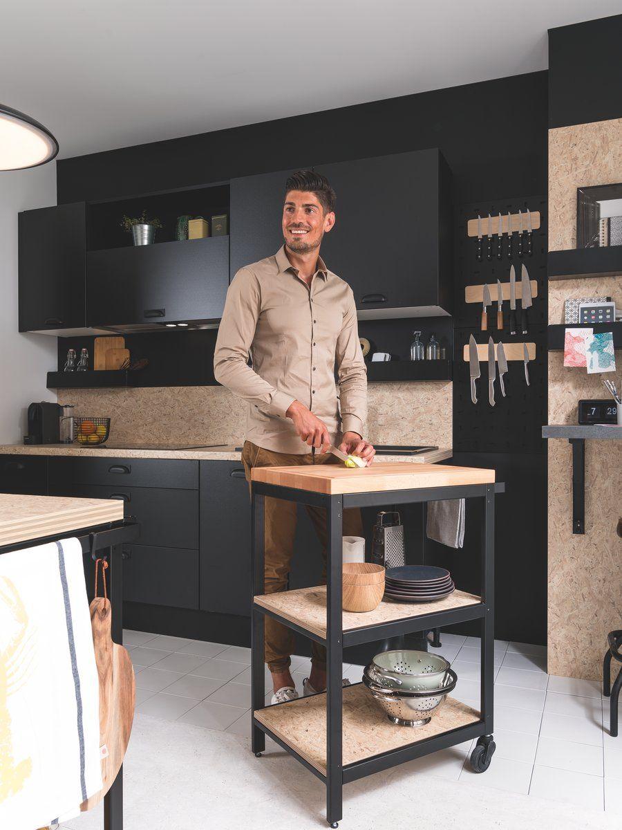 Une Cuisine Ultra Modulable Grace Aux Meubles D Appoint Mobilier De Salon Meubles D Appoint Commode Dans La Cuisine