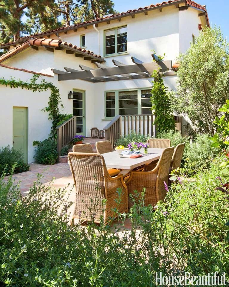 Outdoor Garden, Spanish House
