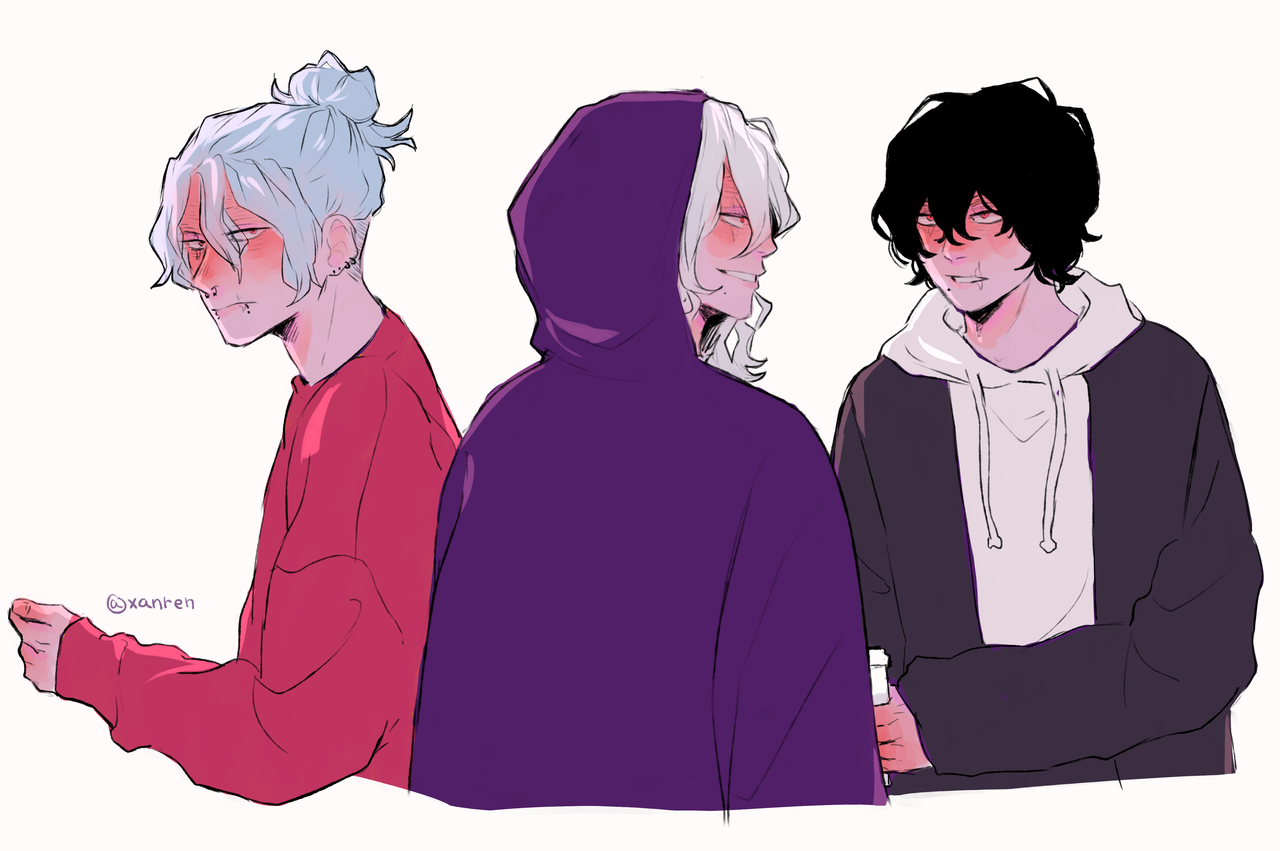 Shigaraki I Look Good In Any Hairstyle Or Color Tomura In 2020 Anime Fan Art Anime Love