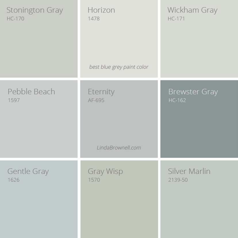 9 Fascinating Best Blue Gray Paint Color Choices For Any Room Lindabrownell Blue Gray Paint Blue Gray Paint Colors Grey Paint