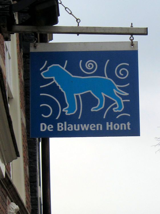 Sign in Delft, The Netherlands.