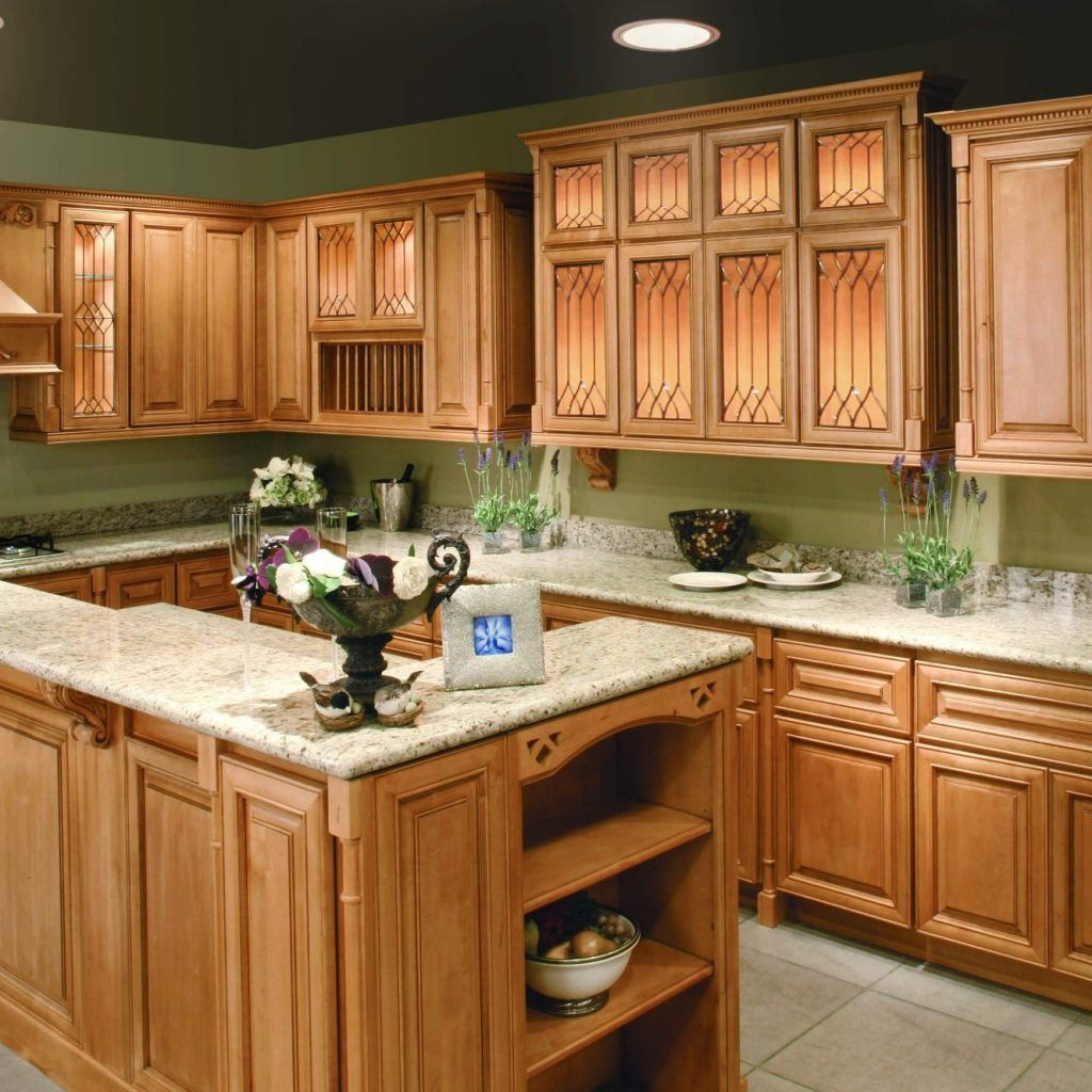 Kitchen Wall Colors With Light Maple Cabinets | Maple ...