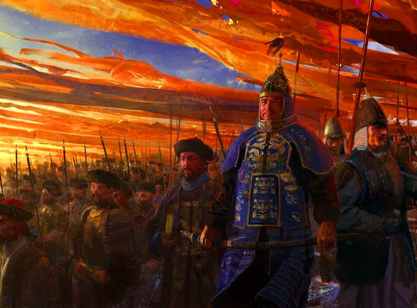 Imperial Chinese Eight Banner Army With Images Age Of Empires