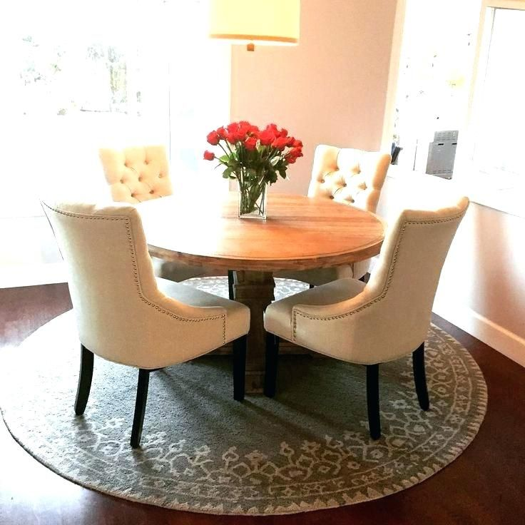 20 Small Dining Room Ideas On A Budget: Round Kitchen Rug Round Dining Table Rug Kitchen