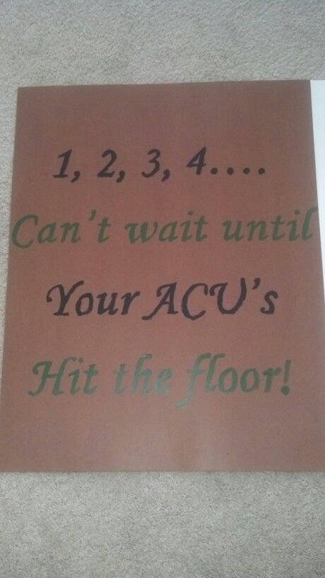 Military homecoming sign for the bedroom door!yeah, I was gonna