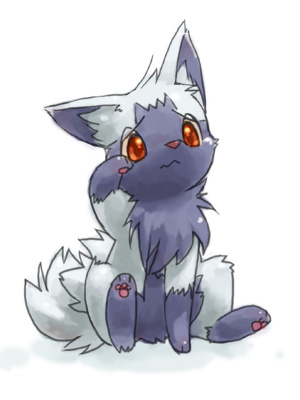 Poochyena--- AWWW NO POOCHYENA STOP CRYING YOU'RE MY FAVORITE COME HERE AND LET ME SNUGGLE YOU