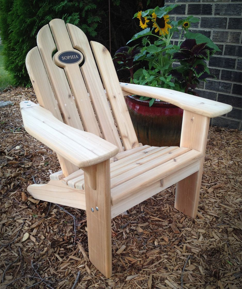 Personalized Little Adirondack Chair.