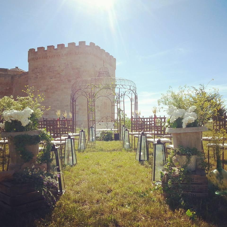 Ceremonia civil en el Castillo del Buen Amor. Wedding Ceremony