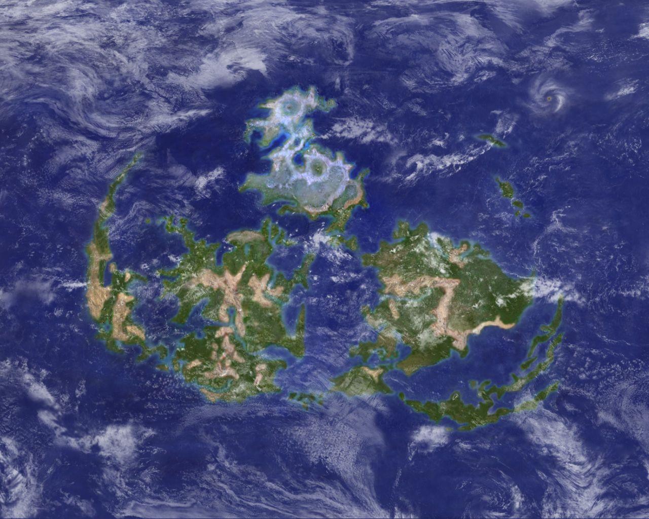 Ff7 world map theme