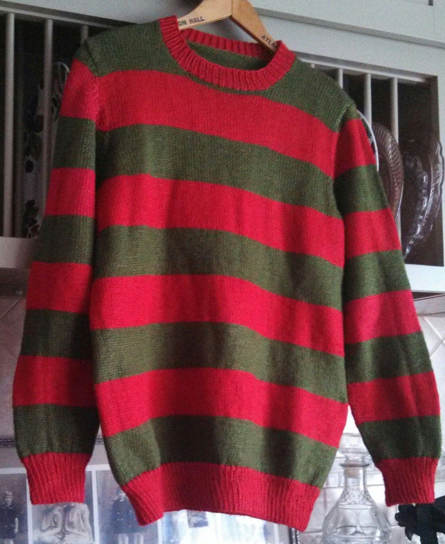 Freddy Krueger Sweater Granddaughter Holly