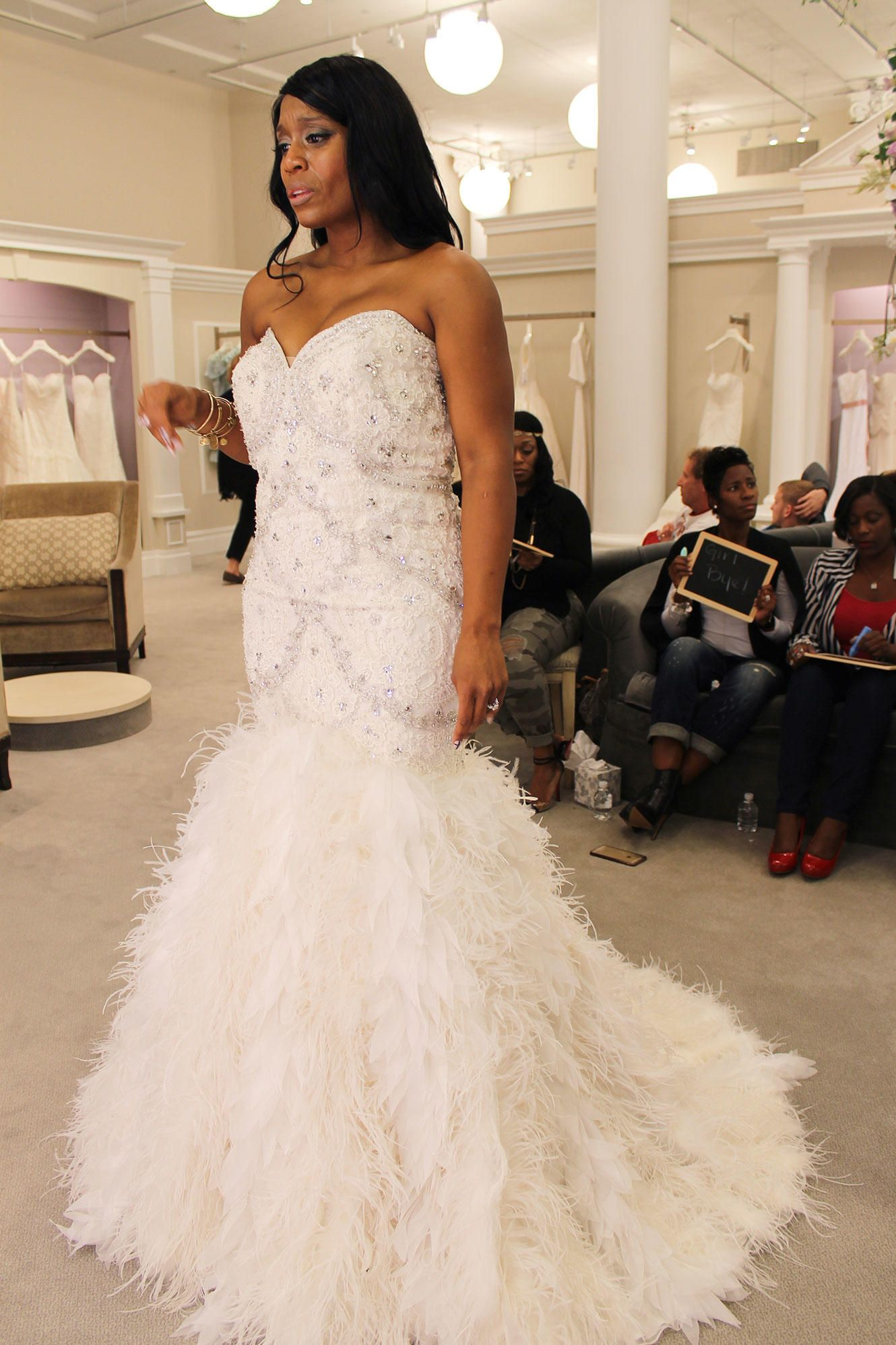 Official Site Wedding Dress With Feathers Stunning Wedding
