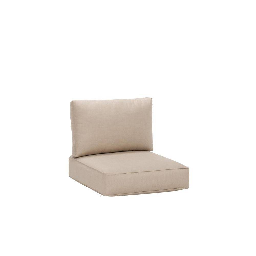 Brown jordan northshore patio middle armless sectional replacement cushions in sparrow