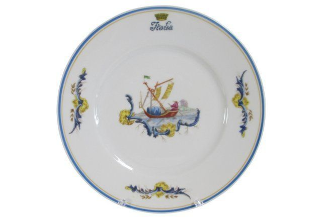 1930s Ginori Italia Oceanliner Plate  sc 1 st  Pinterest & 1930s Ginori Italia Oceanliner Plate   shopping   Pinterest   1930s ...