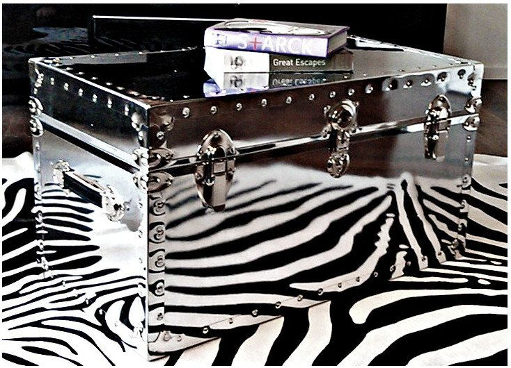 Captivating Aviator Storage Chest Coffee Table By DECOROLOGISTE On Etsy, $599.00