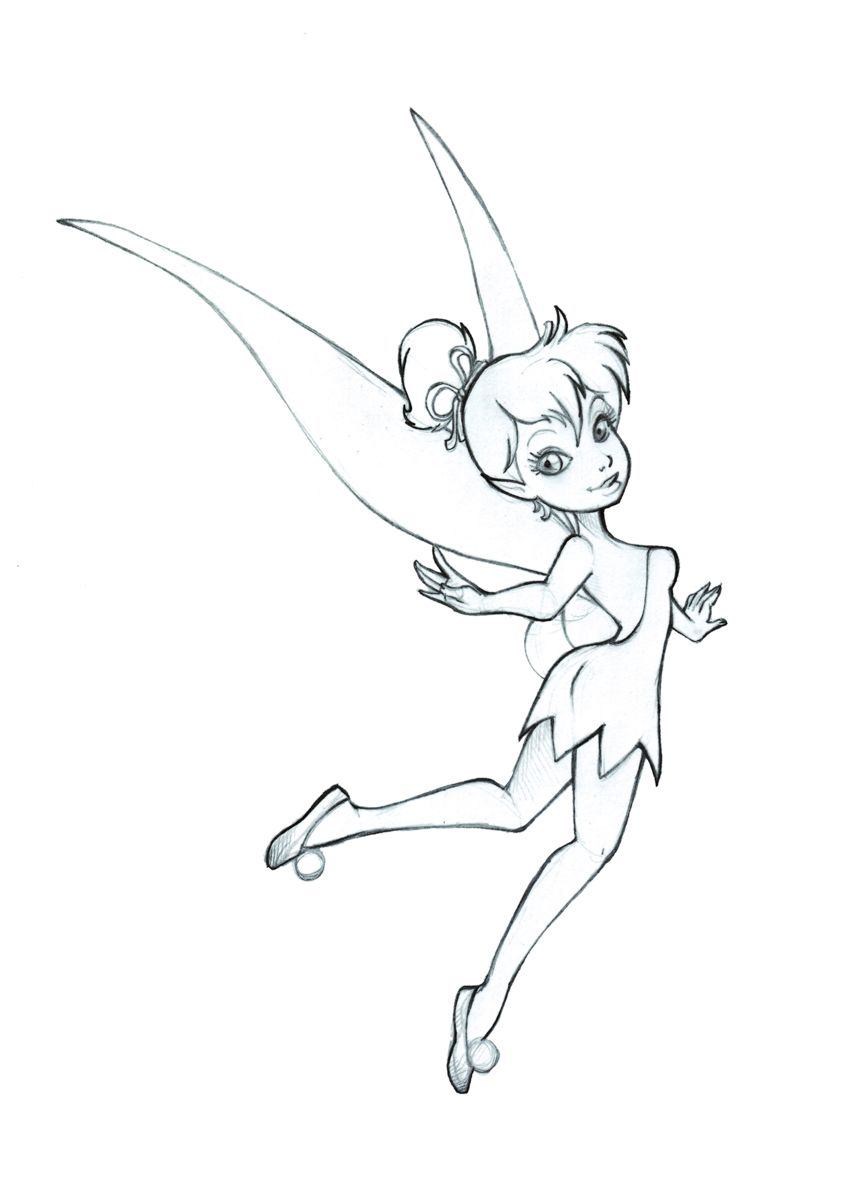 Tinkerbell fairy drawing google search tinkerbell pinterest tinkerbell fairy drawing google search thecheapjerseys Gallery